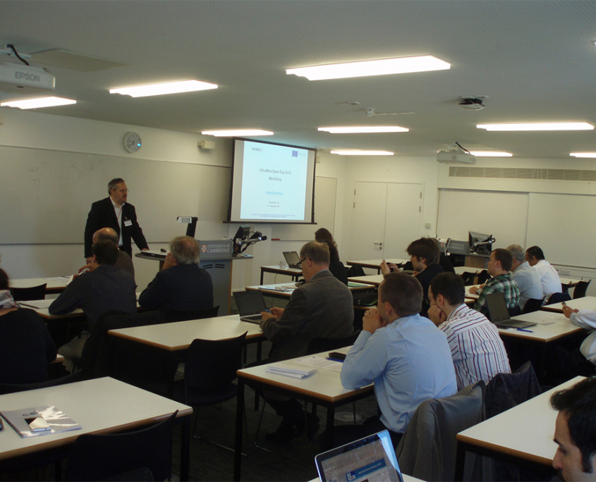 UltraWire Open Day 2015 Workshop - Cambridge